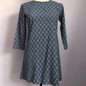 AKA New York Silk Retro Mini Dress ❤️